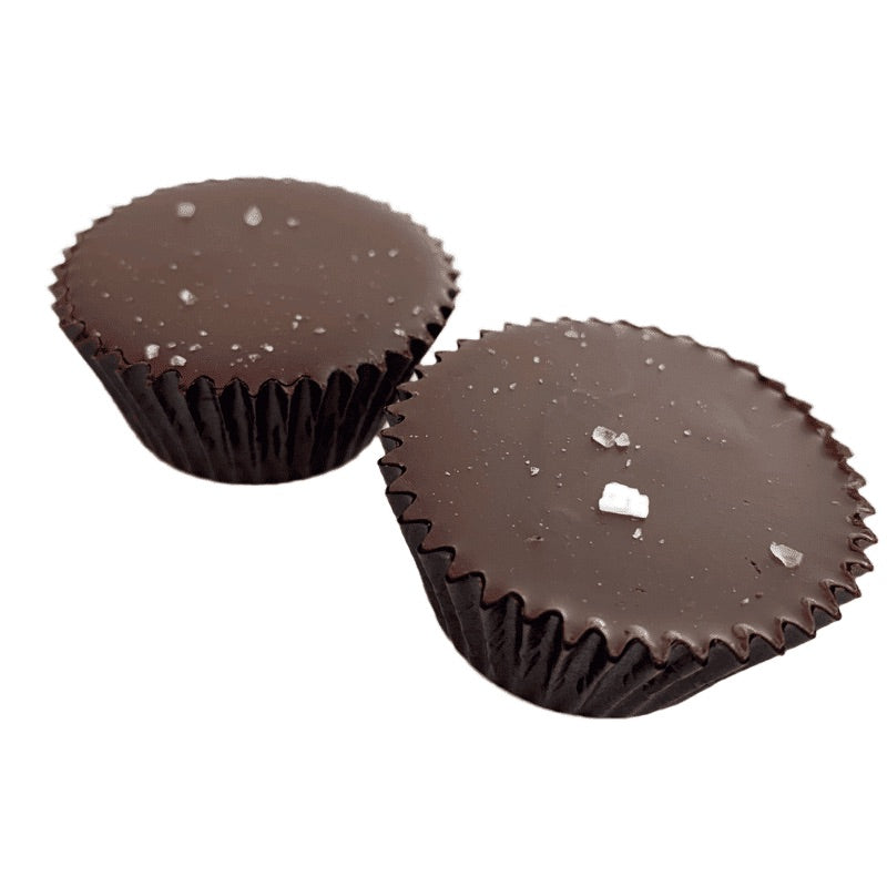 Wholesale KETO Cashew Butter Cups 2pk 1.8 oz each Case of 10 - Tia Coco Healthy Chocolate