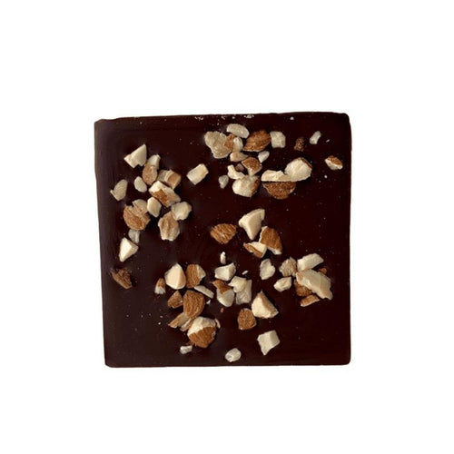 Almond Crunch Half Chocolate Bars 2pk - Tia Coco Healthy Chocolate