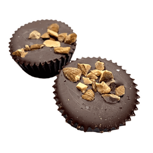 KETO Almond Butter Cup 2 Pack - Tia Coco Healthy Chocolate