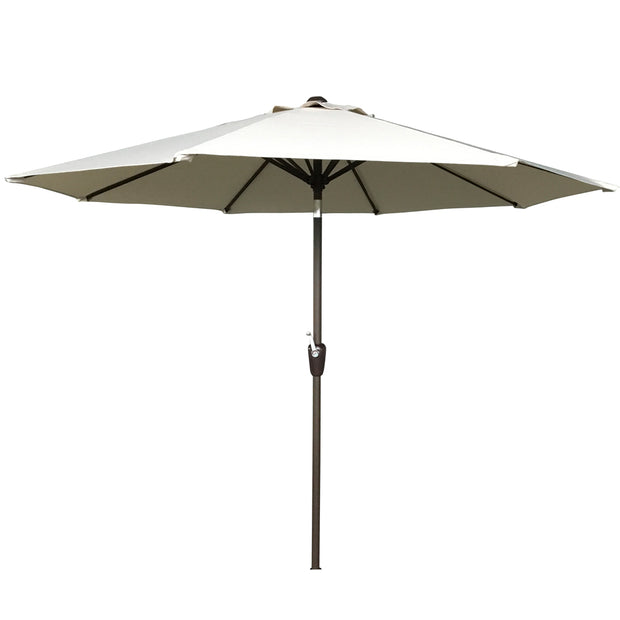 2.5m Table Parasol with Tilt in Beige