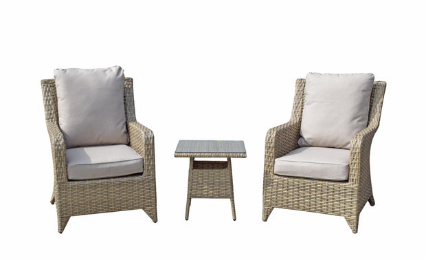 Sarah Lounge Set in Nature Weave
