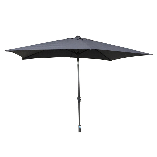 2.5m Table Parasol with Tilt in Grey