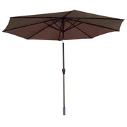 3.0m Table Parasol with Tilt in Chocolate