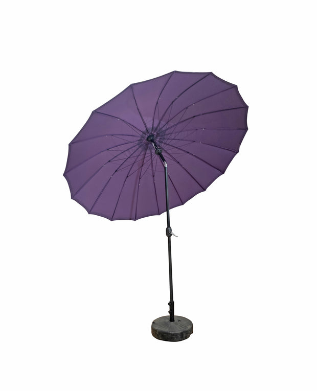 2.7M Dia Shanghai Parasol with Purple Canopy