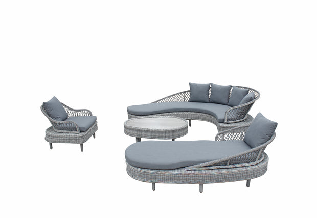 Serenity Luxury Sofa Collection Rope Weave