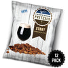 STOUT SNACK PACK BEER PRETZELS 4OZ (CASE OF 12)