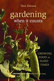 Gardening When It Counts
