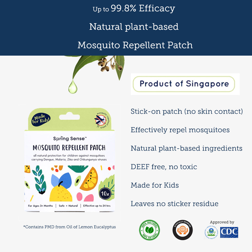 Mosquito Repellent Patch - Spring Sense