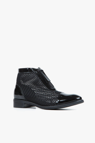 MESH BOOTIE II Black Ankle Boot