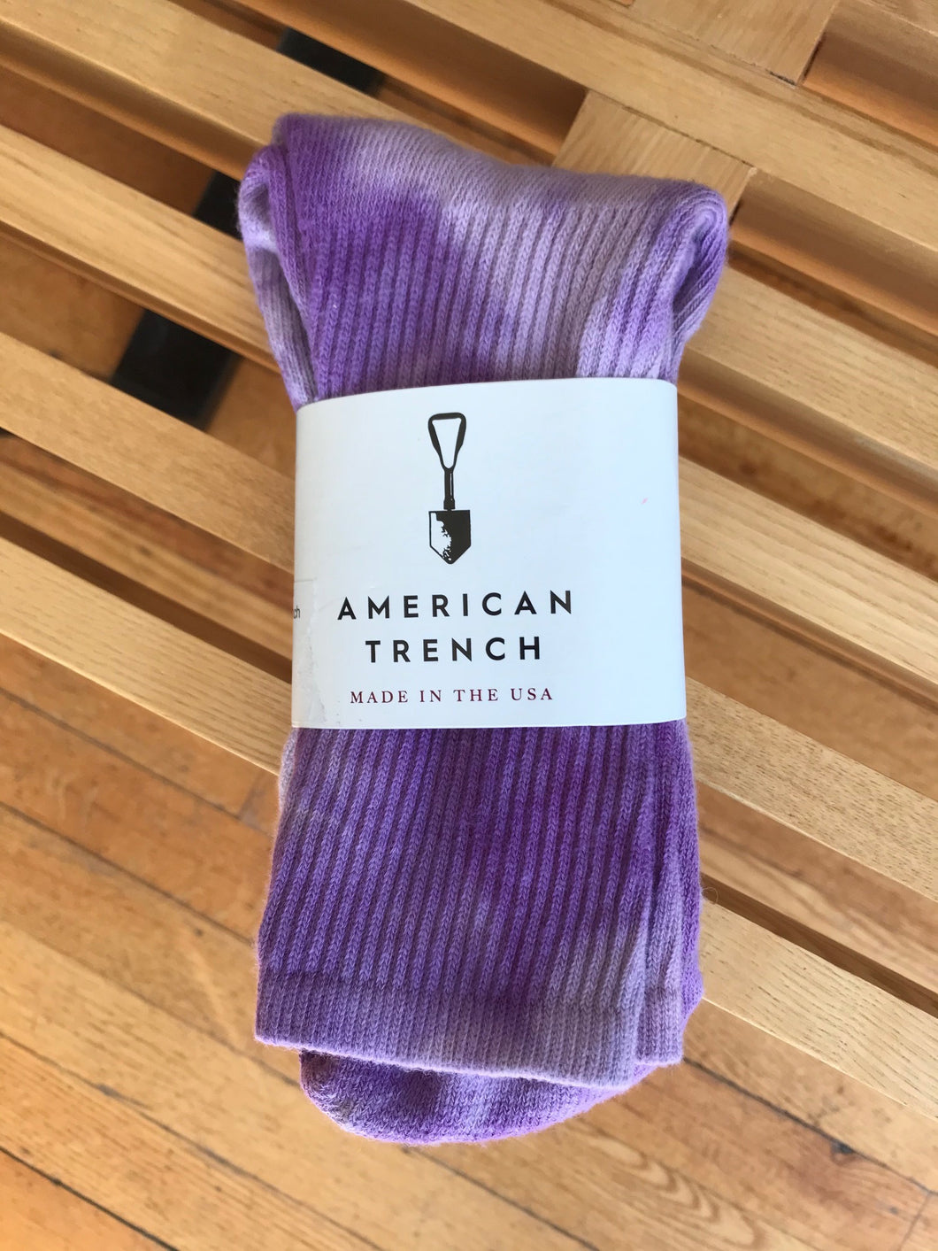 TIE DYE SOCKS PURPLE