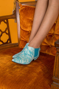 PENNY Turquoise Tie Dye Boots