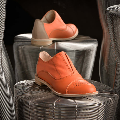 FAUBOURG 24 Orange Oxfords
