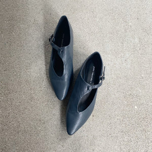 KOKO yuko imanishi Airforce Blue Leather Shoe