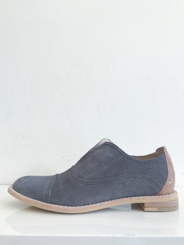 GREY FLANNEL Suede Oxfords