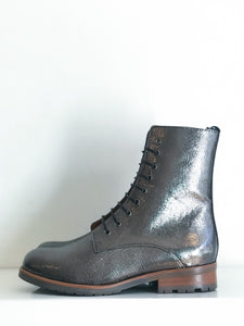 TINO SILVER Leather Biker Boot