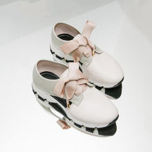 Load image into Gallery viewer, LORI Cream Leather Sneaker