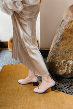 Load image into Gallery viewer, SWEET PEA Pink Leather Pumps