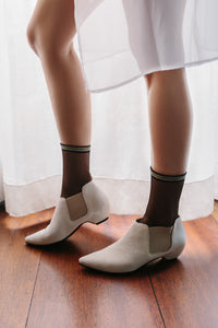 FREESIA Off-White Boots