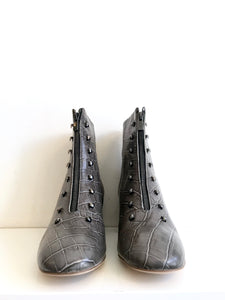 GIG GREY CROC Ankle Boot