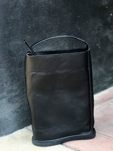KOJI BLACK Leather Shoulder Bag