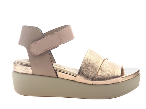 KODA Copper Wedge Sandal