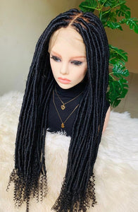 Loc Braided Wig Unit