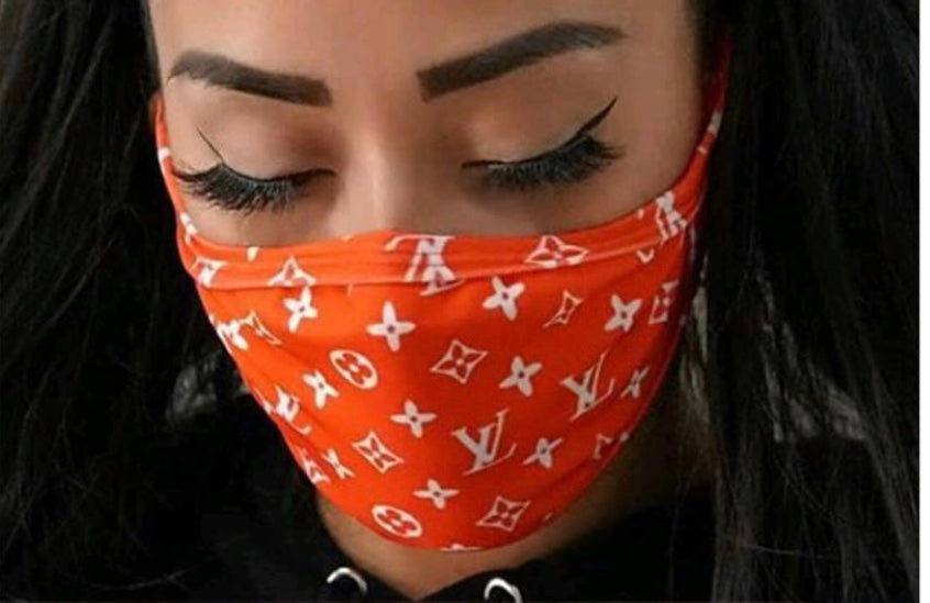 LV All Over Mask