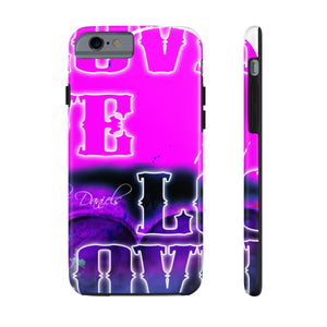 Love 3 - Case Mate Tough Phone Cases