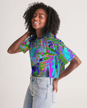 Load image into Gallery viewer, Carlos Daniels - Fauvista - 3 Women's Lounge Cropped Tee