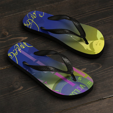 Carlos Daniels - MIX - THRESHOLD - Unisex Flip-Flops