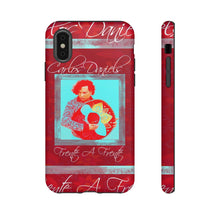 Load image into Gallery viewer, Carlos Daniels - RED - Frente A Frente - iPhone - Samsung - Tough Cellphone Cases