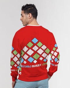 Carlos Daniels - Merry Christmas Diamonds Men's Classic French Terry Crewneck Pullover