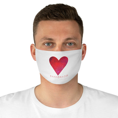 Carlos Daniels - Enamorado 12 - Fabric Face Mask - (White)