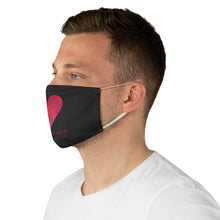 Load image into Gallery viewer, Carlos Daniels - Enamorado 12 - Fabric Face Mask - (Black)