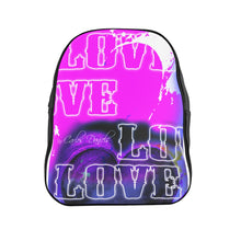Load image into Gallery viewer, Love 3 - School Backpack
