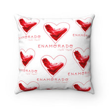 Load image into Gallery viewer, Carlos Daniels - Enamorado 11 - Faux Suede Square Pillow