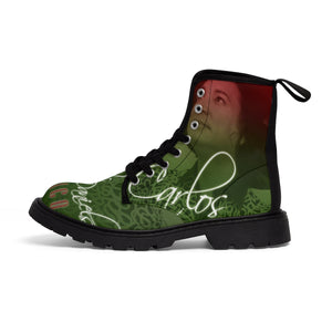 Carlos Daniels - Mexico En El Alma - Men's Canvas Boots
