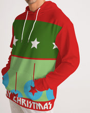 Load image into Gallery viewer, Carlos Daniels - Merry Christmas Stars And Balls Men's Hoodie