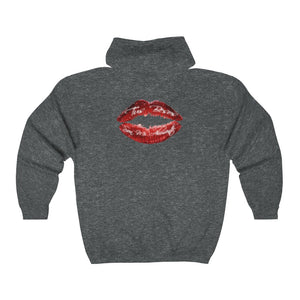 Carlos Daniels - Enamorado 6 - Unisex Heavy Blend™ Full Zip Hooded Sweatshirt