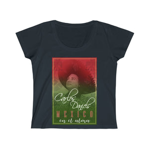 Carlos Daniels - Mexico En El Alma - Women's Scoop Neck Tee