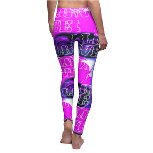 Love 3 - Women's Leggings