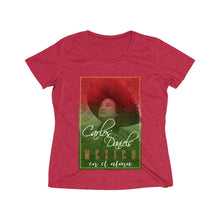 Load image into Gallery viewer, Carlos Daniels - Mexico En El Alma - Women's Heather Wicking Tee