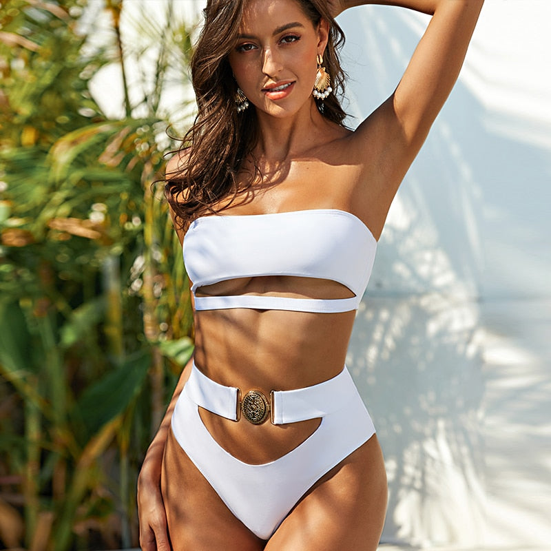Valentino Swimsuit with Belt