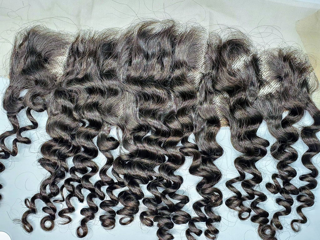 """Wild""- Malaysian Deep Wave 13x4 Frontal"