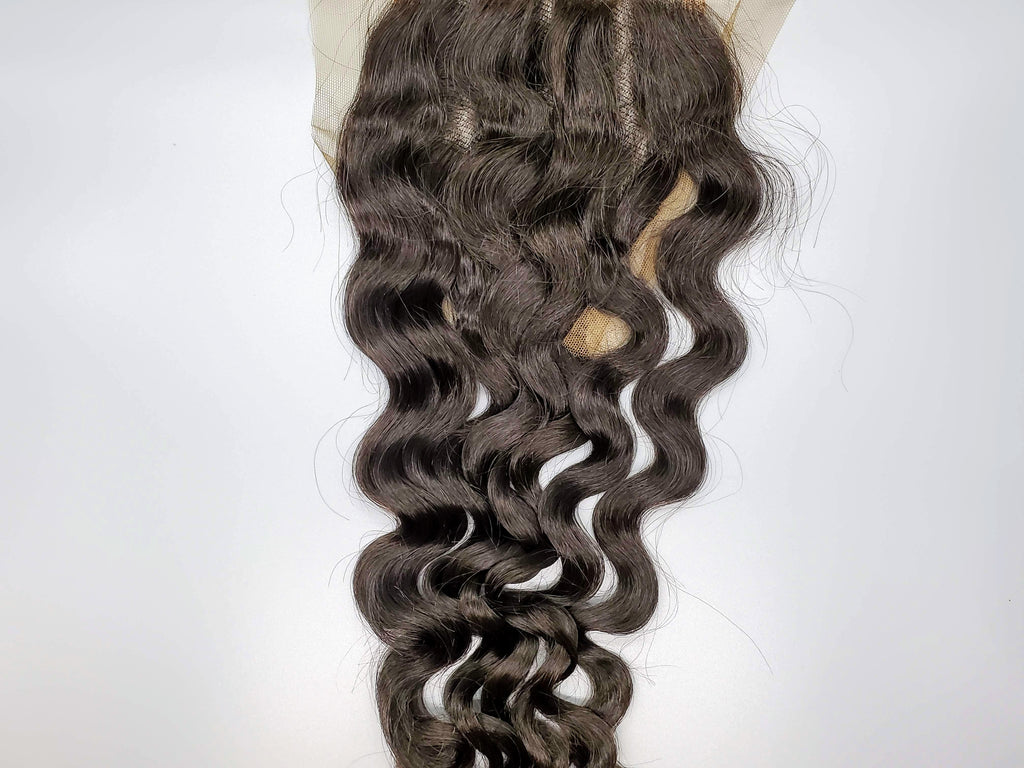 """Spicy""- Malaysian Water Wave 4x4 Closure"
