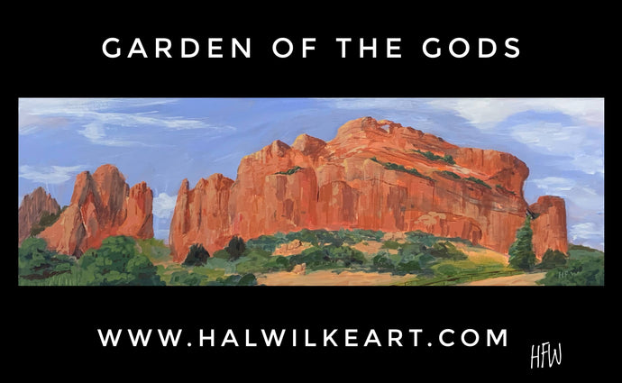 The Garden of the Gods - Painting Demonstration