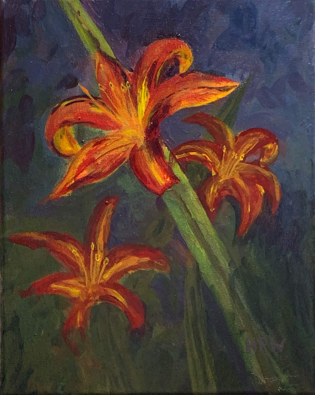 Day Lilies, 8