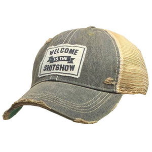 Welcome to the Show Distressed Trucker Cap