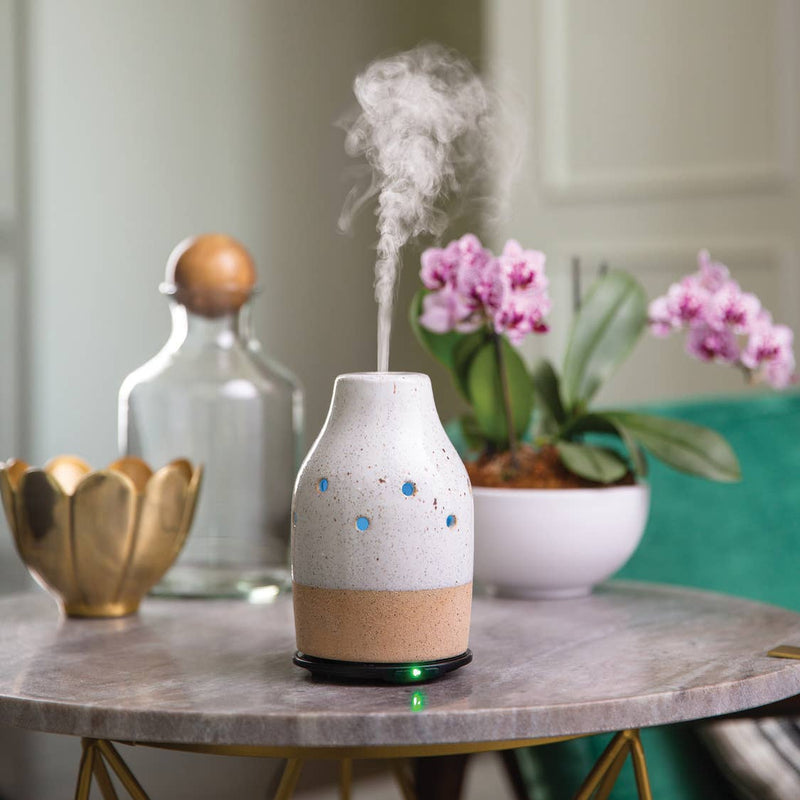 100 ml Ultra Sonic Essential Oil Diffuser Classic Collection-Rustic White