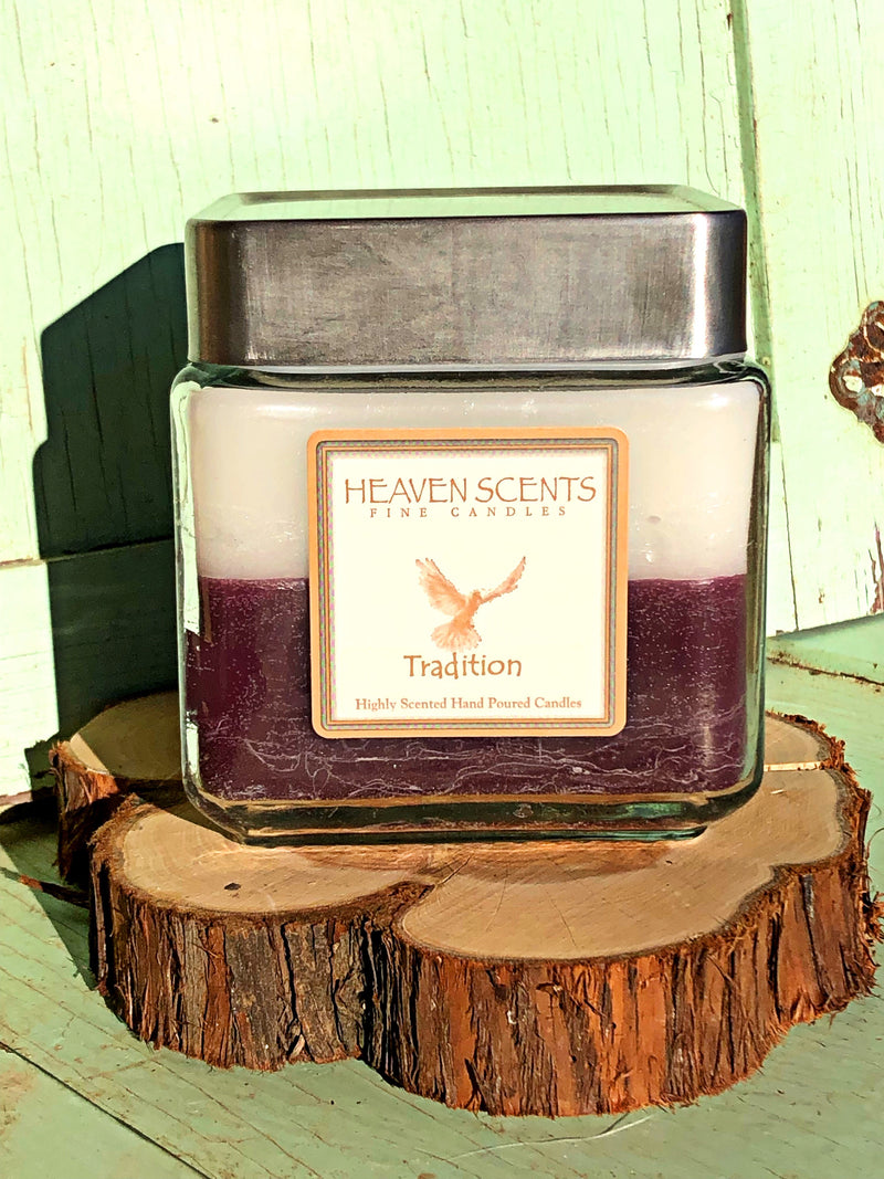 24 oz Candle- Tradition Scent